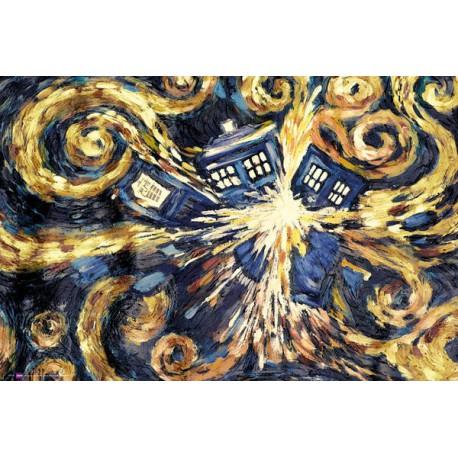 Plakát: Exploding TARDIS