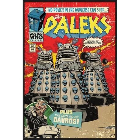 Plakát: Dalek To Victory