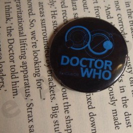 Placka Doctor Who FanClub