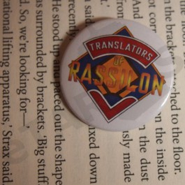 Placka Translators of Rassilon (bílá)