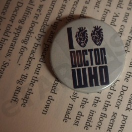 Placka I love love Doctor Who (real)