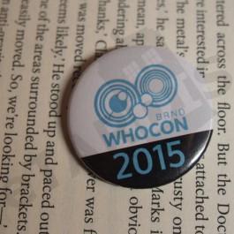Placka WHOCON 2015
