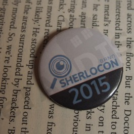 Placka SHERLOCON 2015