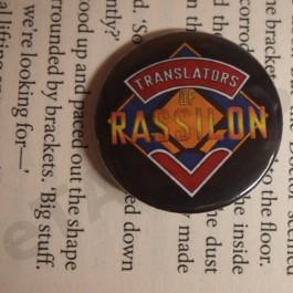 Placka Translators of Rassilon (černá)