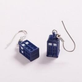 Náušnice TARDIS