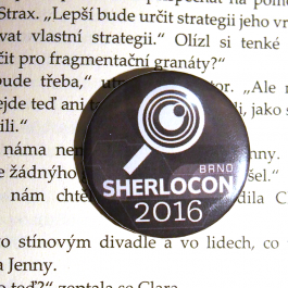 Placka SHERLOCON 2016