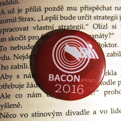 Placka BACON 2016