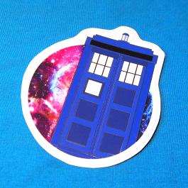 Samolepka TARDIS
