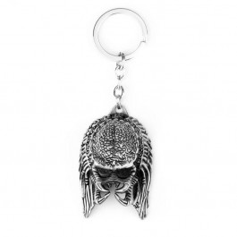Alien vs Predator Keychain Alloy Alien Mask Metal Key Rings Toys