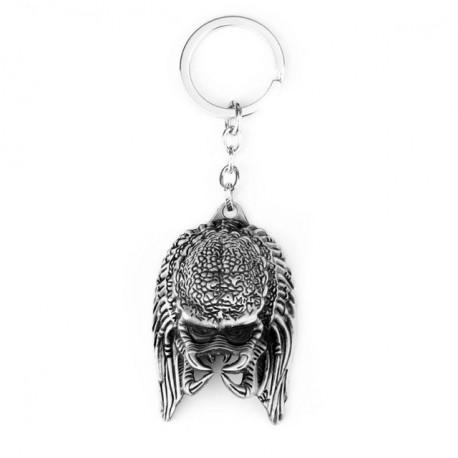 Alien vs Predator Keychain Alloy Alien Mask Metal Key Rings Toys