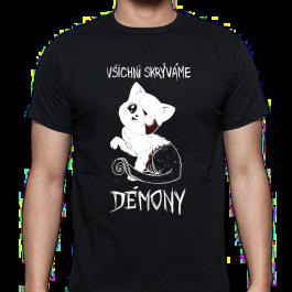 Tričko Všichni skrýváme démony | Pixelorez