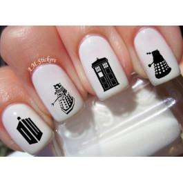 Samolepky na nehty | Doctor Who