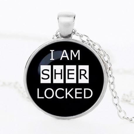Přívěsek I am Sherlocked | Sherlock Holmes