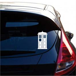Samolepka na auto TARDIS | Doctor Who