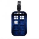 Visačka na kufr TARDIS (dřevěna) | Doctor Who