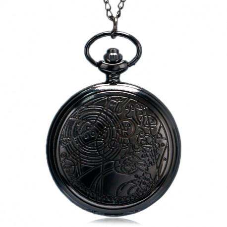 Nové Kapesní hodinky (černé)  aacca60a9c