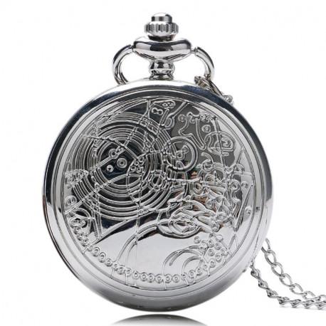 Kapesní hodinky (stříbrné) | Doctor Who