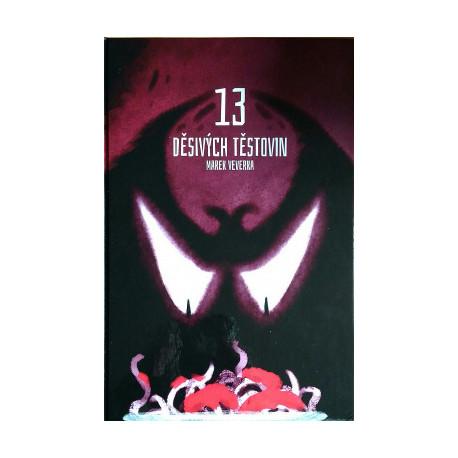 Kniha - 13 děsivých těstovin