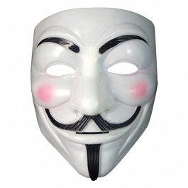 Maska Anonymous / Guy Fawkes | V jako Vendeta