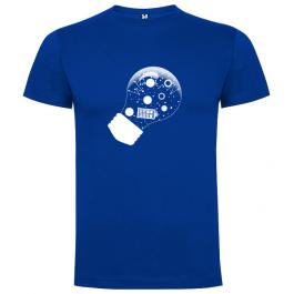 Tričko žárovka (2019) – modré | WHOCON Brno