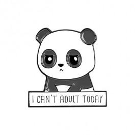 Brož nedospělá panda