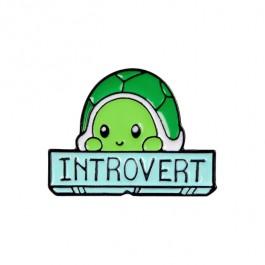 Brož introvertní želva