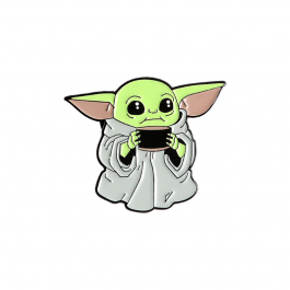 Brož Baby Yoda | Mandalorian