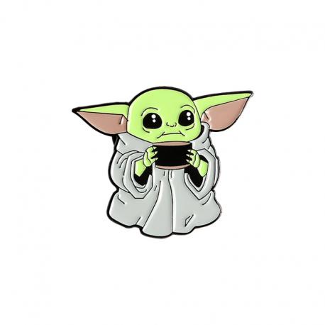 Brož Baby Yoda   Mandalorian