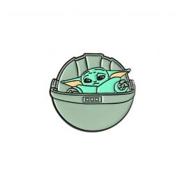 Brož Baby Yoda (kolíbka) | Mandalorian